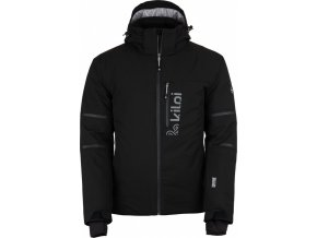 Męska dwuwarstwowa kurtka zimowa KILPI URAN-M czarna