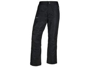 Spodnie narciarskie damskie KILPI GABONE-W Czarne 19 (DUŻY ROZMIAR)