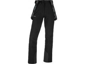 Spodnie softshell damskie KILPI RHEA-W Czarne 19 (DUŻY ROZMIAR)