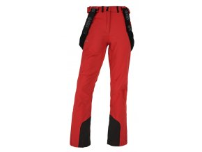 Spodnie softshell damskie KILPI RHEA-W Czerwone 19 (DUŻY ROZMIAR)