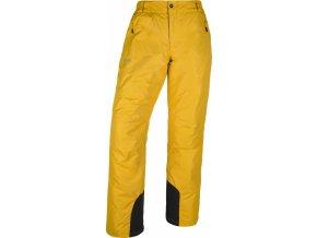 Męskie spodnie narciarske KILPI GABONE-M Żółta 19 (DUŻY ROZMIAR)