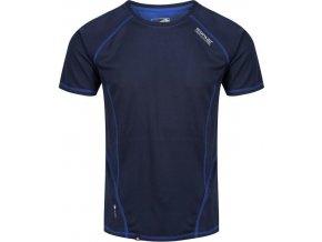 Pánské fuknční triko REGATTA RMT164 Virda II 9B6 Modré