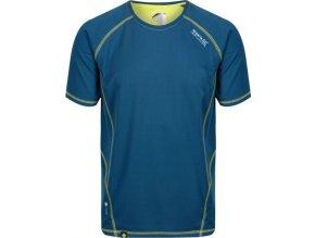 Jasnoniebieski bluzka męska Regatta RMT164 Virda II