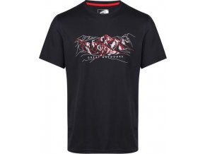 Czarny t-shirt męski Regatta RMT188 Fingal IV