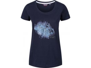 Ciemnoniebieski t-shirt damski Regatta Filandra III RWT171