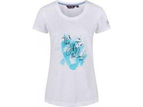 Biały t-shirt damski Regatta Filandra III RWT171