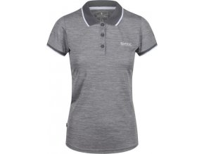 Szara koszulka Polo damska Remex II REGATTA RWT178