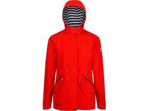 Czerwona kurtka  REAGATTA RWW316 przeciwdeszczowa damska Basilia
