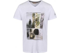 Męska koszulka  REGATTA RMT193 Calton Biały