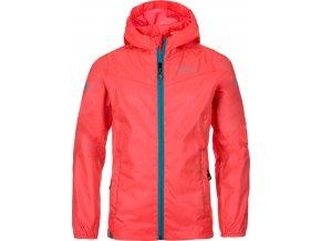 Dziecięca kurtka outdoorowa KILPI DENERI-JG Różowy kolor 19
