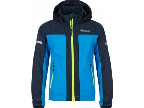 Dziecięca kurtka outdoorowa KILPI ORTLER-JB Niebieski kolor 19