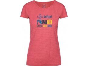 Dámské funkční tričko KILPI GIACINTO-W Růžová 19