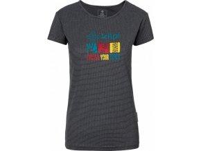 Damska koszulka funkcjonalna KILPI GIACINTO-W Szary 19 (DUŻY ROZMIAR) 1