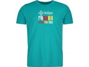 Męska koszulka funkcyjna KILPI GIACINTO-M Turkusowy 19 (DUŻY ROZMIAR) 1