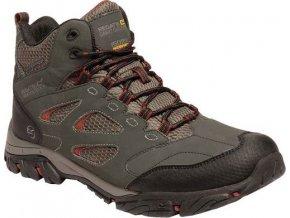 Męskie buty trekkingowe do kostki Holcombe IEP Brązowe
