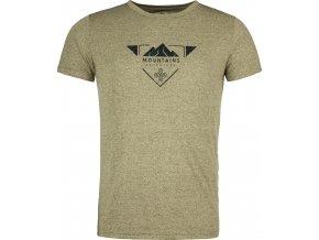 Męska koszulka KILPI GAROVE-M Żółty 19 1