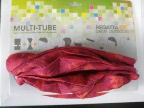 Komin dziecięcy Regatta RKC103 Print Multitube Różowa
