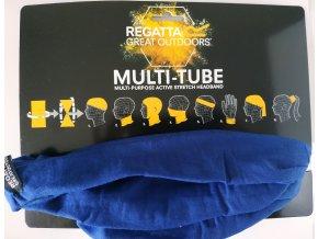 Multifunkční šátek Regatta RMC051 Multitube Unisex Modrý