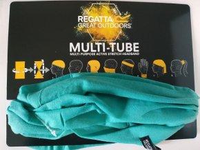 Multifunkční šátek Regatta RMC051 Multitube Unisex Tyrkysový