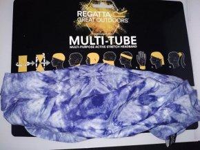 Multifunkční šátek Regatta RMC052 Multitube Printed Fialový