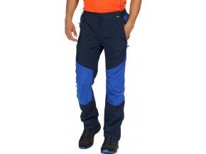 Męskie spodnie outdoorowe Regatta RMJ193R SUNGARI Granatowe