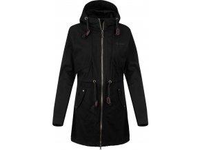 Modny płaszcz damski KILPI  PAU-W Czarny 19 1