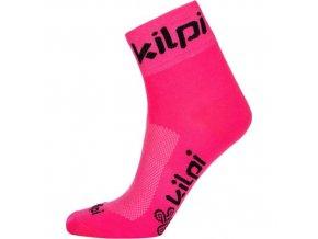Uniwersalne skarpety sportowe KILPI REFTON-U różowe 19