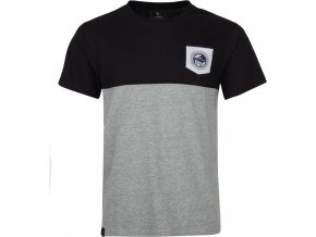 Męska koszulka bawełniana KILPI AREC-M  Czarna19 b