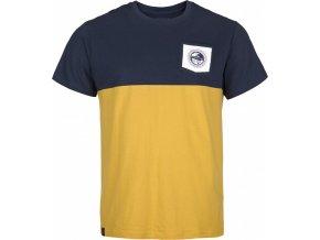 Męska koszulka bawełniana KILPI AREC-M Żółta 19 b