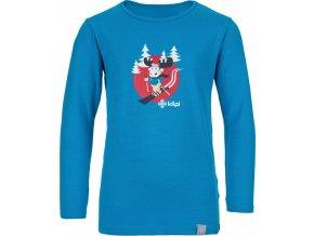 Bawełniana koszula dziecięca KILPI LERO-J  Niebieski kolor 19 b