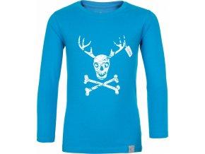 Bawełniana koszula chłopca KILPI HARDY-JB Niebieski kolor 19 b