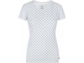 Koszulka bawełniana damska KILPI MERSI-W Biała 19 b