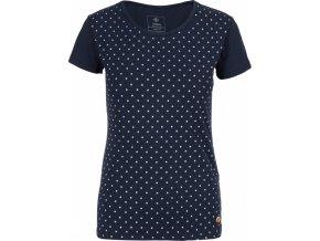 Koszulka bawełniana damska KILPI MERSI-W Niebieska 19 b