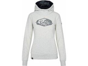 Bluza bawełniana damska KILPI ETELA-W Biała 19 b