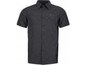 Męska koszula KILPI BOMBAY-M Szary (DUŻY ROZMIAR)