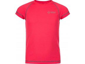 Funkcjonalna koszulka dziewczęca Kilpi TECNI-JG Różowy 19 1