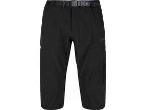 Męskie spodnie 3/4 Kilpi OTARA-M Czarne (DUZY ROZMIAR) 1