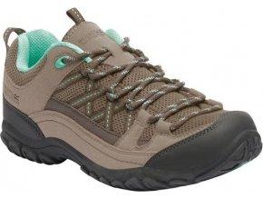 Damskie buty trekkingowe RWF468 REGATTA  Edgepoint II Beżowy kolor