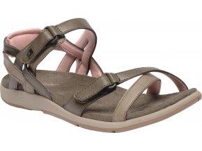 Bladoróżowe sandały damskie RWF399 REGATTA Lady Santa Cruz