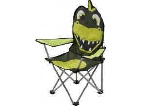 Przenośne krzesło campingowe dziecięce Regatta RCE076 zielony