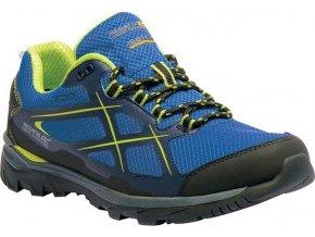 Niebieskie sportowe buty męskie Regatta RMF489 Kota Low