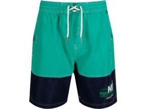 Zielone spodenki do pływania męskiey RMM010 REGATTA Bratchmar III