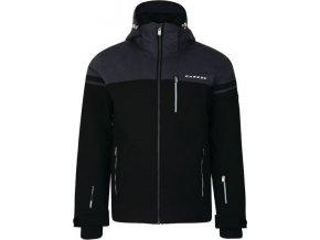 Męska kurtka narciarska DMP383 DARE2B Graded Czarny kolor
