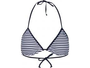 Góra od bikini  RWM010 RREGATTA Aceana String Top biały w garnatowe paski