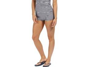 Dół od stroju kąpielowego RWM007 Aceana Bikini Short w granatowe paski