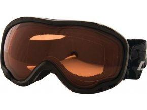 Gogle narciarskie damskie  DUE339 DAR2B Velose Adult Gogg Czarny kolor