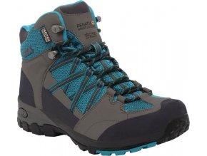 Damskie buty trekkingowe RWF509 Regatta Samaris Mid Turkusowy