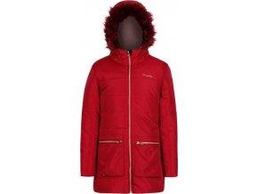 Dívčí zimní kabát RKN075 Regatta Cherryhill Červená