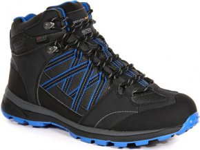 Ciemnoszare buty turystyczne męskie Regatta RMF539 Samaris Mid II