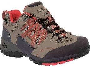 Damskie buty trekkingowe RWF499 REGATTA  Samaris Low Beżowe